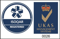 ISOQAR and UKAS Certified